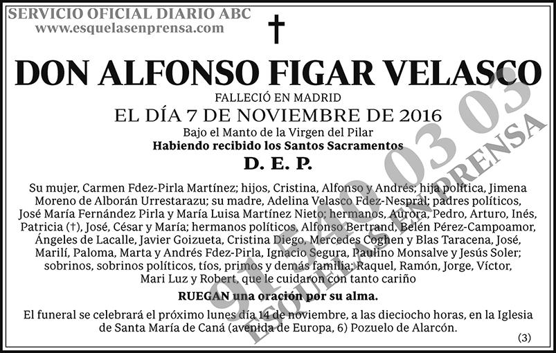 Alfonso Figar Velasco